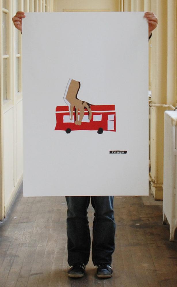 Adrien-Alrivie-Affiche-Rouge-carmin-Affiche-HD